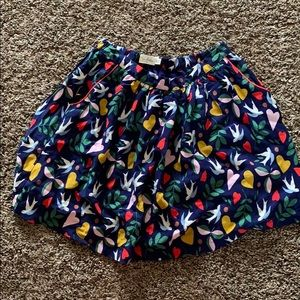 Mini boden twirling skirt girls 11/12